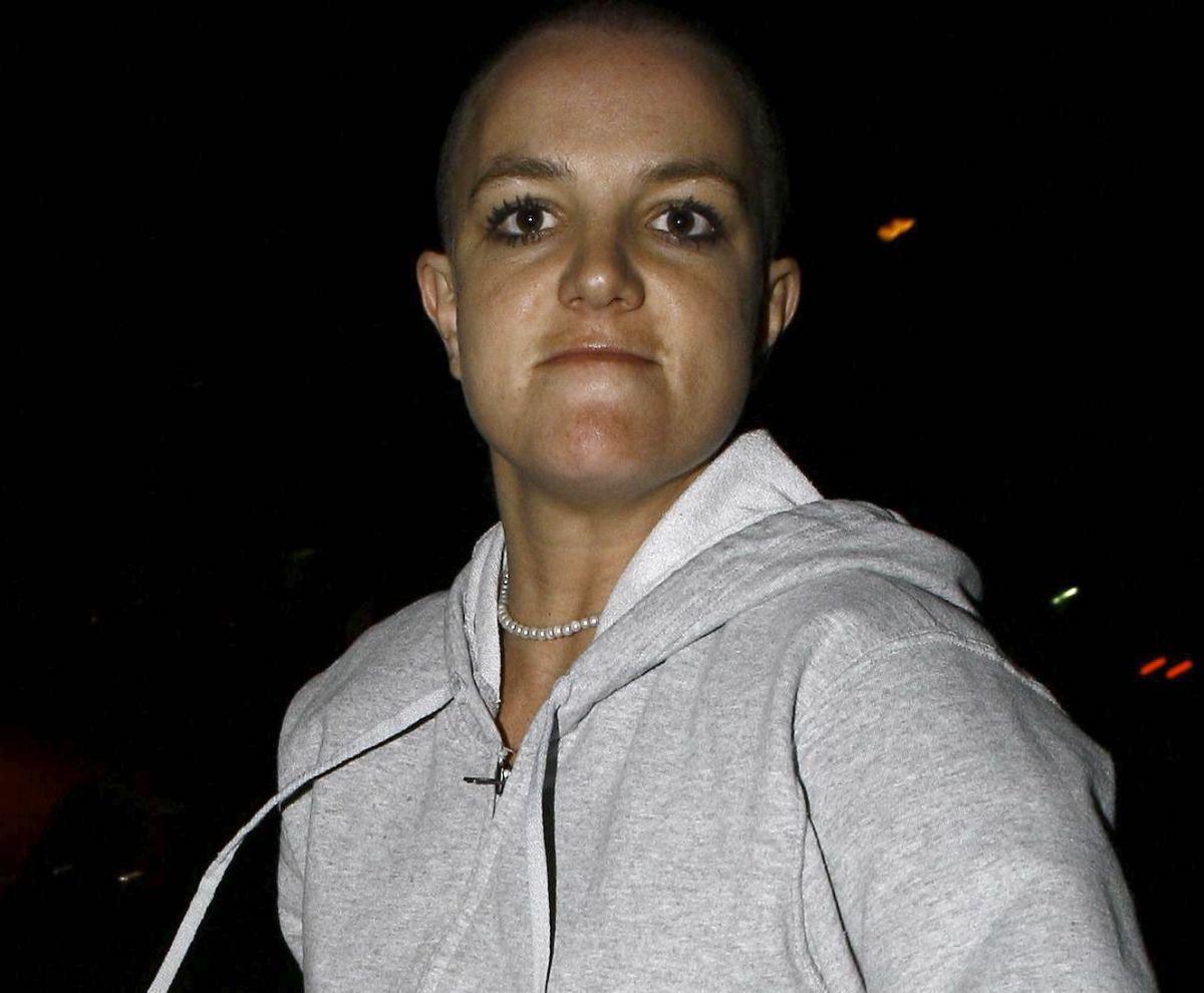 Britney Spears antes de entrar en rehabilitación…