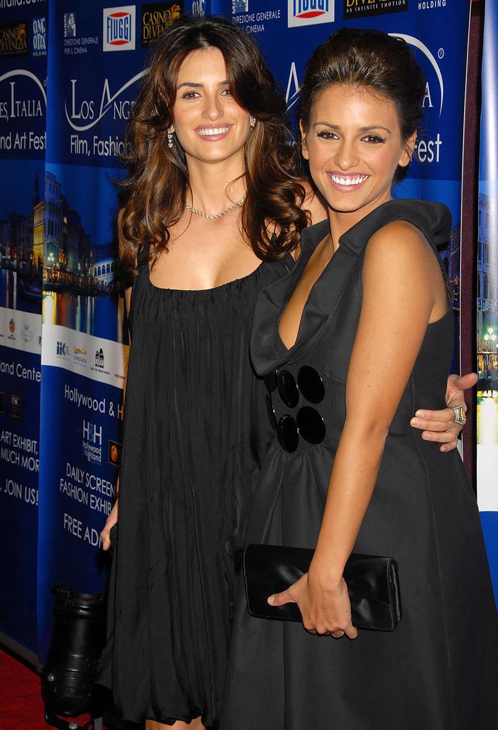 Penelope Cruz y su hermana