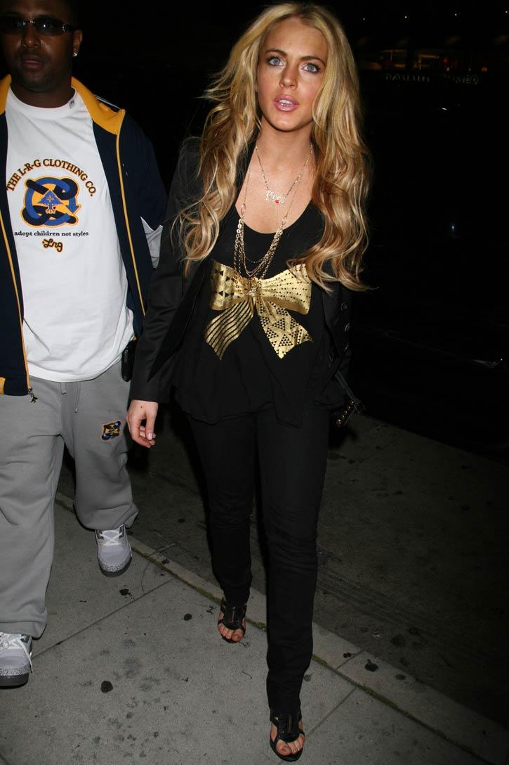 Lindsay Lohan es rubia….
