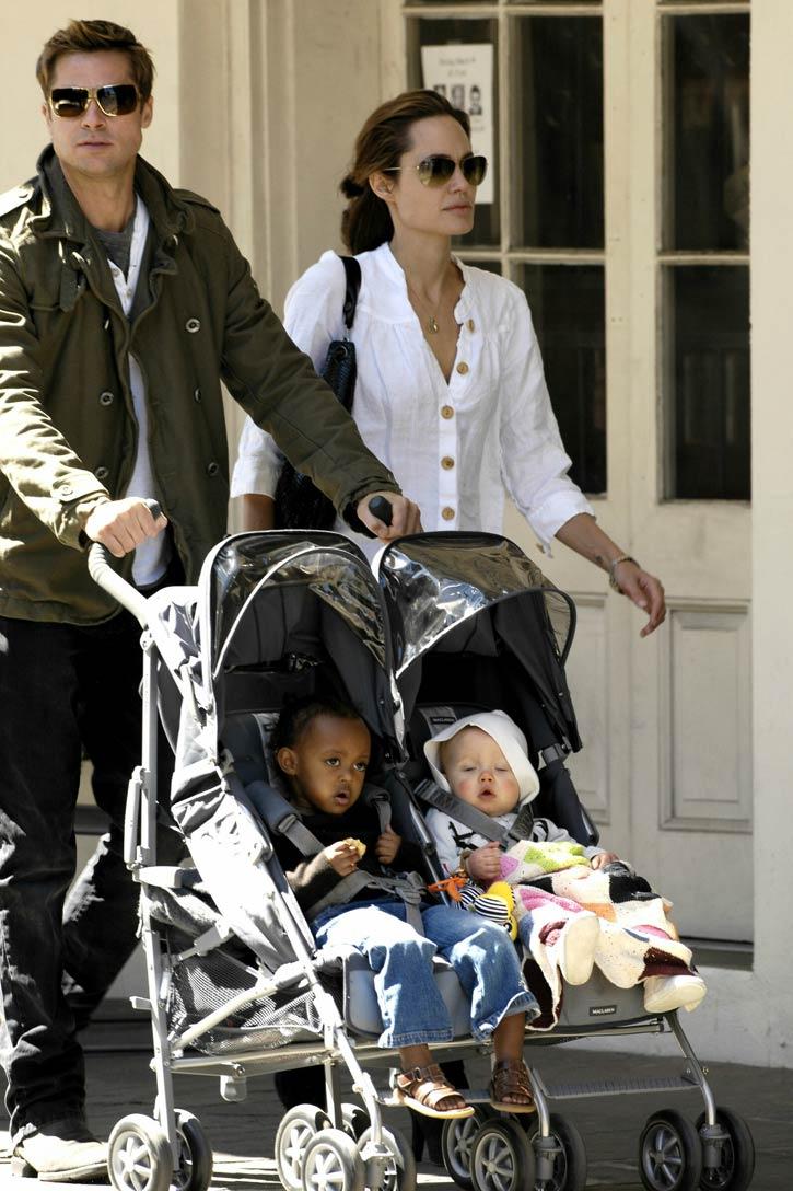 Angelina Jolie y Brat Pitt…