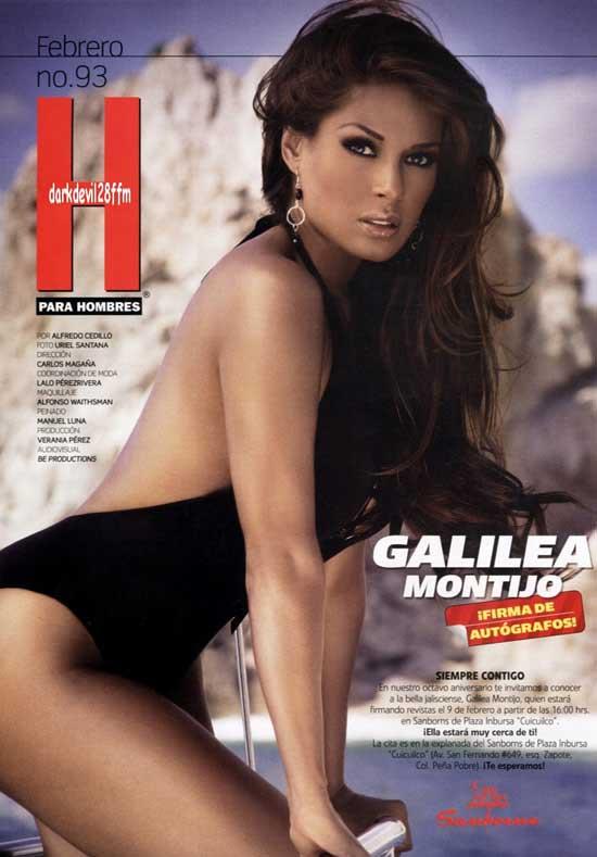 Galilea Montijo en la revista H