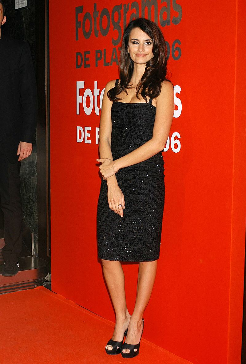 Penélope Cruz en los Premios Fotogramas 2006