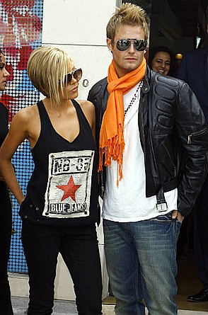 Victoria and David Beckham… fakes.