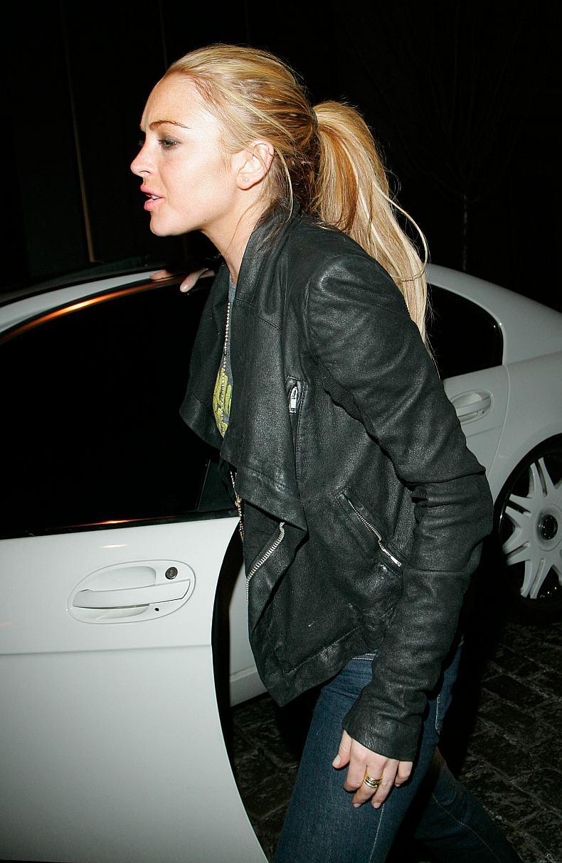 Lindsay Lohan atropella a un fotografo…
