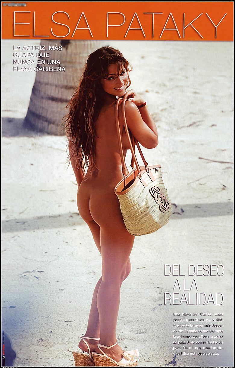 Elsa Pataky en la revista Interviú