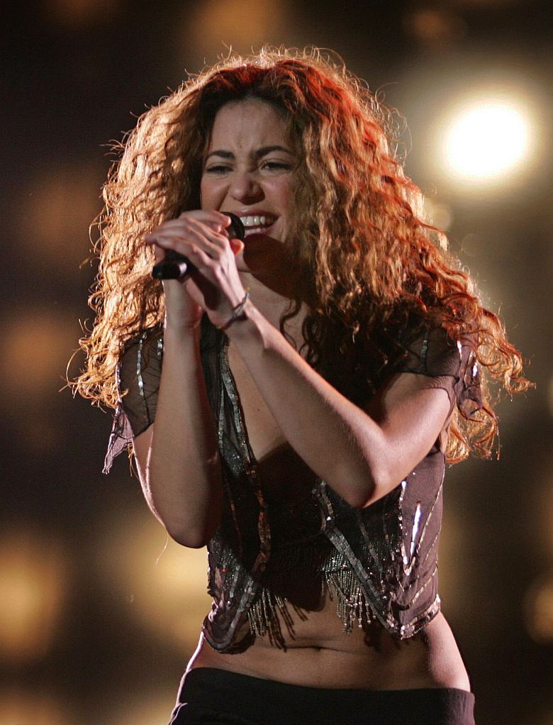 Shakira en cantó en Mumbai, India
