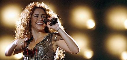 Shakira en India