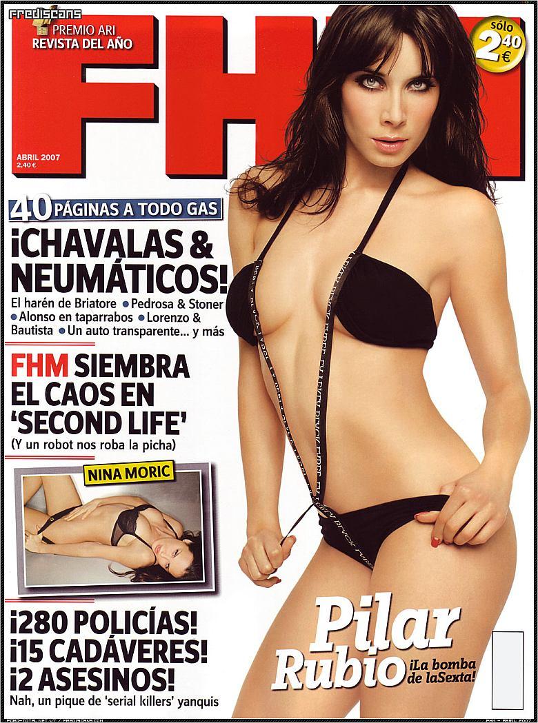 Pilar Rubio (FHM Arbil 2007)