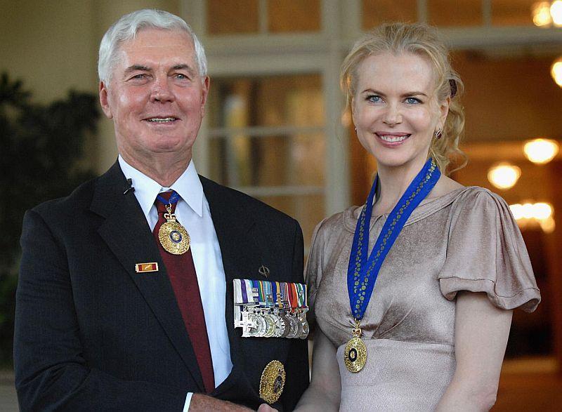 Nicole Kidman Recibiendo el honor