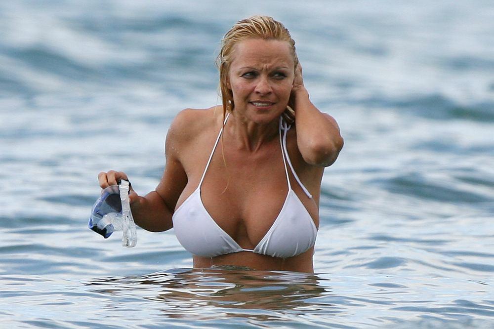 Pamela Anderson en Hawaii